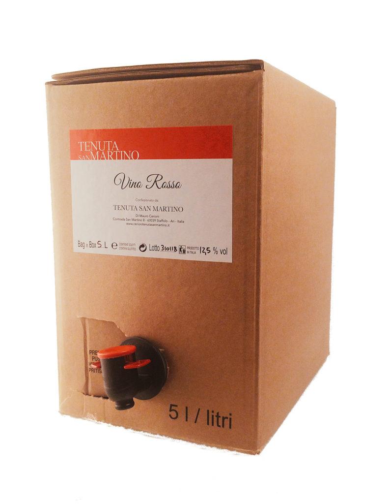 VINO ROSSO   BAG IN BOX 5L