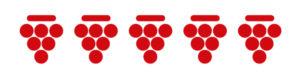 5 grappoli bibenda