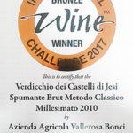 wine winner bronze
