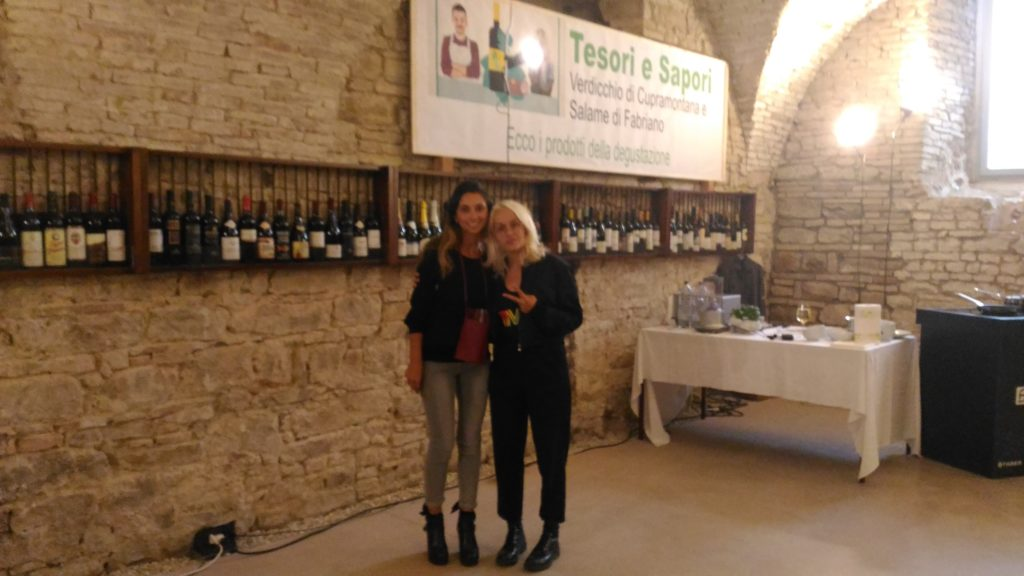 Michela di Partner Wine e Alessandra Machella