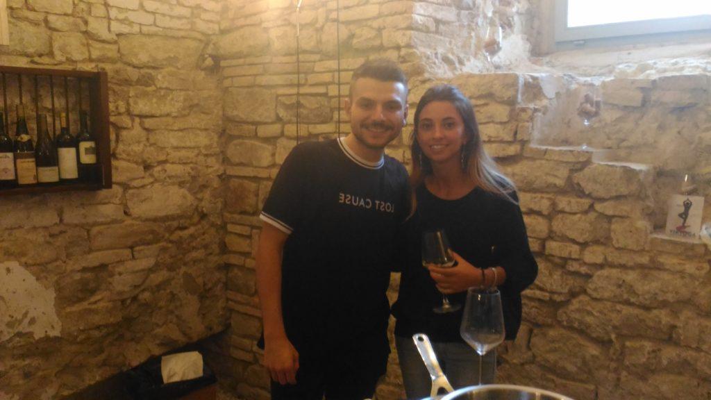Simone Scipione e Michela di Partner Wine