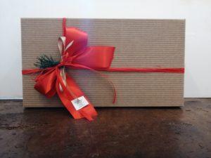 confezione regalo natale scatola partnerwine