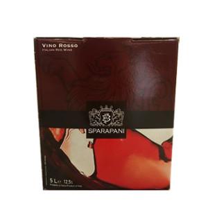 Bag in Box Vino Rosso Sparapani