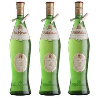 Anfora Fazi Battaglia 3 bottiglie