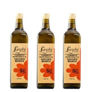 Olio aromatizzato longhi 3 bottiglie