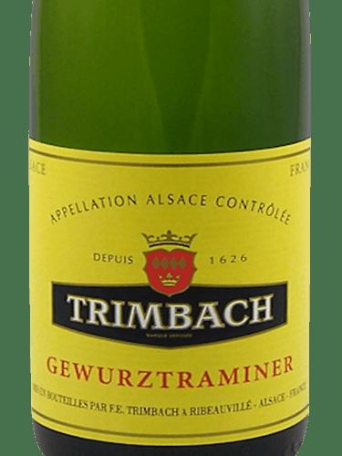 Etichetta Trimbach Gewurztraminer