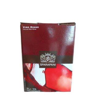 Bag in Box 3 Litri Rosso Sparapani