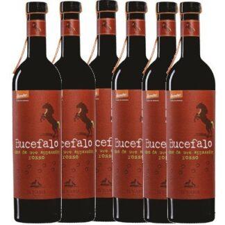 Offerta 6 bottiglie Bucefalo rosso Lunaria
